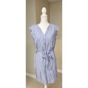 Old Navy Pinstripe Dress - L